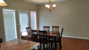 Painting interior dining room