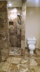 Bathroom Remodel Project - North Kansas City Contractor