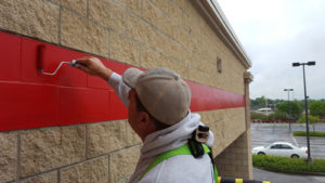 Commercial exterior repainting north Kansas City