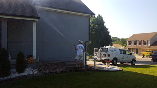 Exterior Painting in North Kansas City