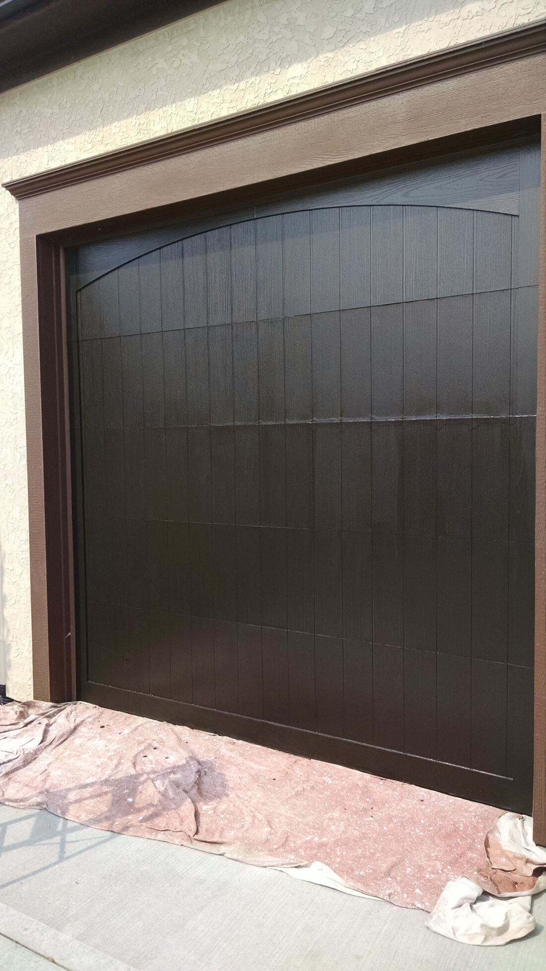 Garage Door Painting Kansas City
