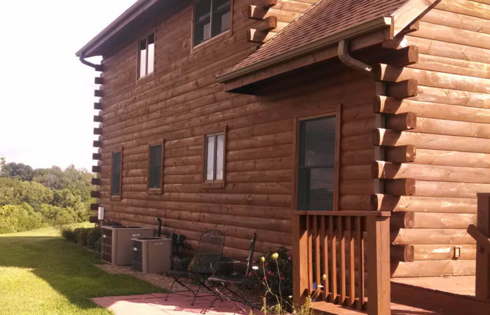 House Wood Staining North Kansas City