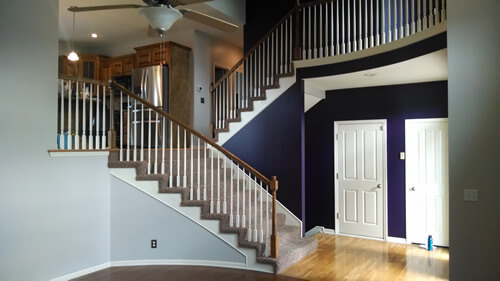 Interior Repaint in Kansas City
