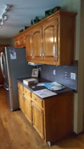 Kitchen Before Painting - Kansas City Painters