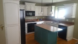 Kitchen After Painting - Kansas City Painters