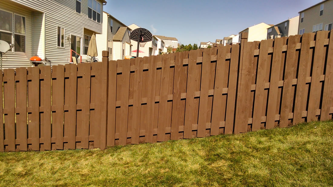 North Kansas City Fence Staining